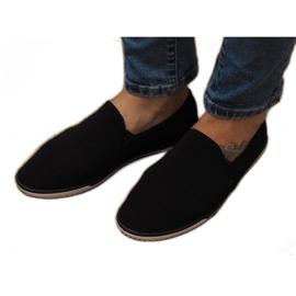 Sneakers Slip-On in Lycra D16M Nere nero