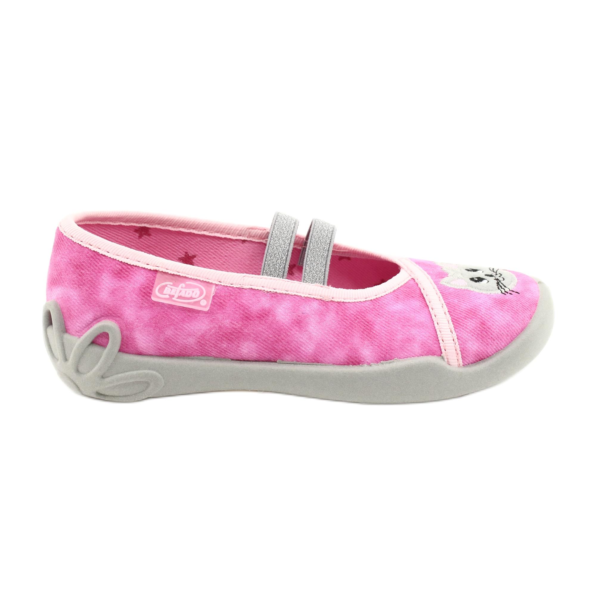 Scarpe per bambini Befado 116X290 rosa argento grigio