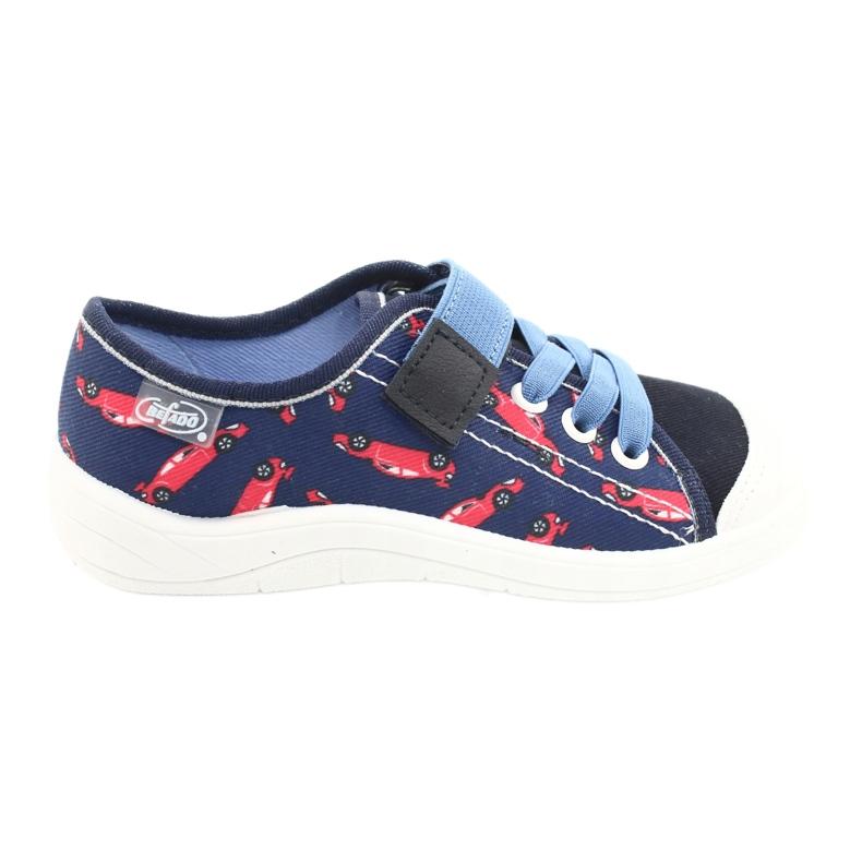 Scarpe per bambini Befado 251X160 rosso marina blu
