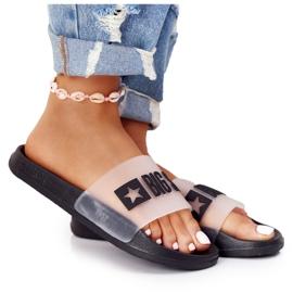 Pantofole da donna Big Star FF274A200 Nere incolore nero