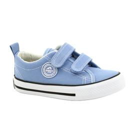 Sneakers blu americane American Club LH64 / 21