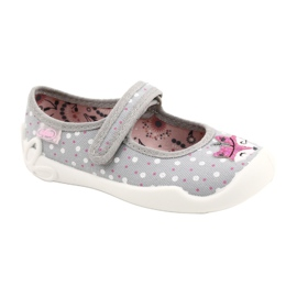 Ballerine bambina BLANCA BEFADO 114X425 bianco rosa grigio