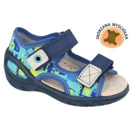 Scarpe per bambini Befado pu 065X156 blu navy blu verde
