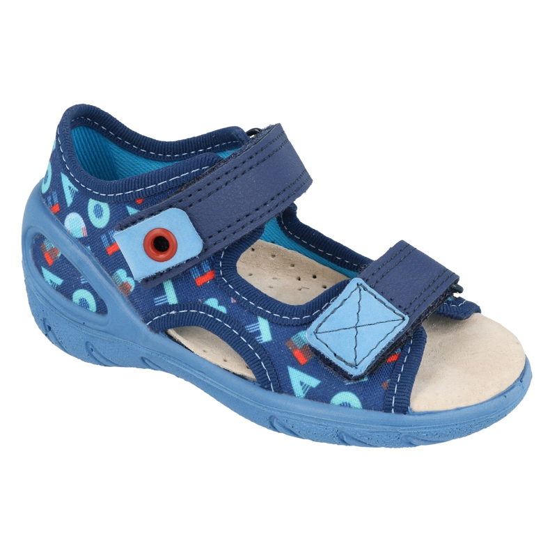 Scarpe per bambini Befado pu 065X161 marina blu