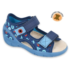 Scarpe per bambini Befado pu 065P161 marina blu