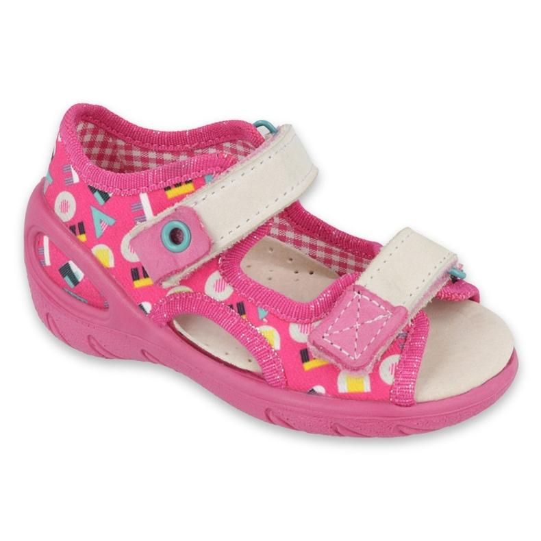 Scarpe per bambini Befado pu 065P153 rosa