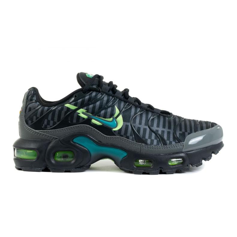 Nike Air Max Plus Gs Jr DA1310-010 scarpe bianco nero