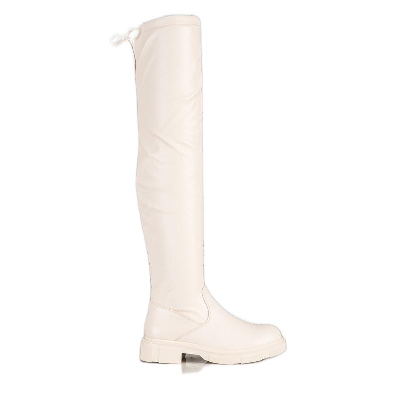 Seastar Stivali beige alla moda con ecopelle