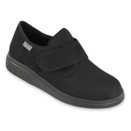 Pantofole Befado Mocassini Dr. Orto Salute 036d006 nero