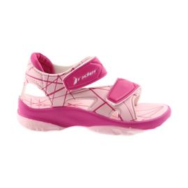 Scarpe velcro per bambini con sandali rosa per acqua Rider 488