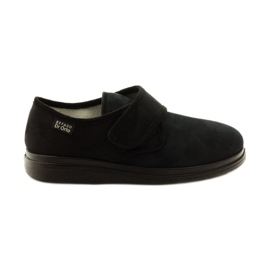 Nero Mocassini per la salute delle pantofole Befado Dr.Orto 036D007
