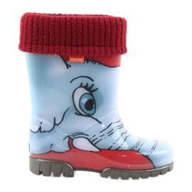 Stivali per bambini Demar wellies con un calzino
