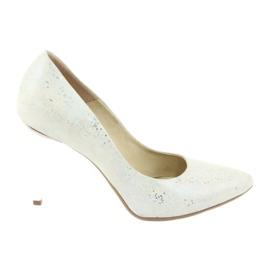 Espinto 456/96 scarpe da donna bianche