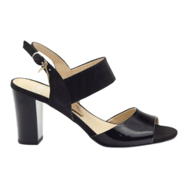Sandali Caprice scarpe da donna 28307 nero