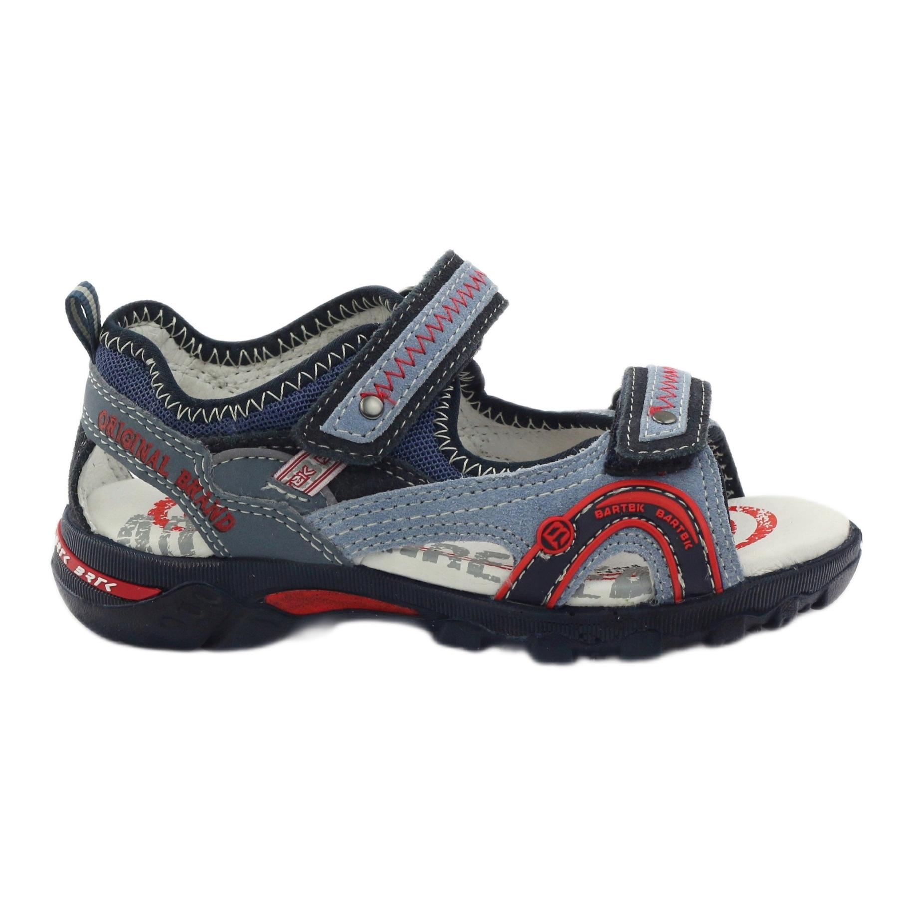 Sandali da ragazzo Bartek 19113 blu rosso multicolore