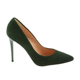 Espinto Pompe Su Uno Stiletto Verde