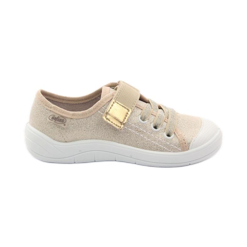Pantofole sneakers da bambina Befado 251x071 oro