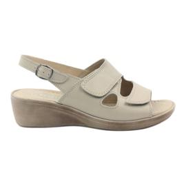 Gregors 592 sandali da donna beige marrone