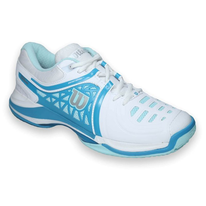 Scarpe da tennis Wilson NVISION Elite donna WRS320020 bianco