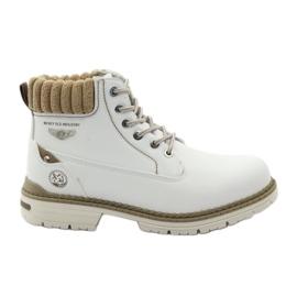 McKey bianco Stivali invernali allacciati 400
