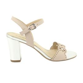 Sandali Caprice scarpe da donna 28303 rosa
