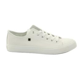 Big Star bianco Sneakers da ginnastica per lacci delle scarpe delle grandi star