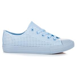 Kylie Sneakers Openwork a rilegatura blu
