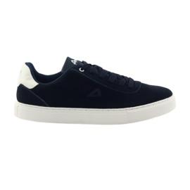 American Club Sneakers uomo sneakers americane 17003 blu navy marina
