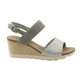 Sandali Caprice scarpe da donna 28701 grigio