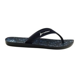 Pantofole da uomo Rider 11073 blu scuro