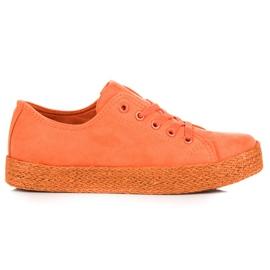 Kylie Espadrillas Orange Sneakers arancione