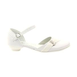 Courtesy ballerinas Comunione Miko 714 bianco
