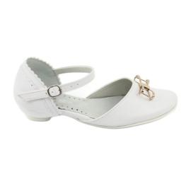 Bianco Scarpe da ballerina di cortesia Miko 707 bianche