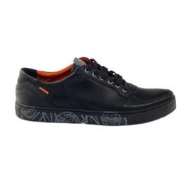 Scarpe sportive da uomo Badura 3361 nere nero