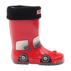 American Club Calza stivali Wellington più inserto RED CAR