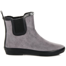 Kylie Wellies in pelle scamosciata