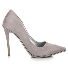 Seastar grigio Tacchi alti alla moda grigi
