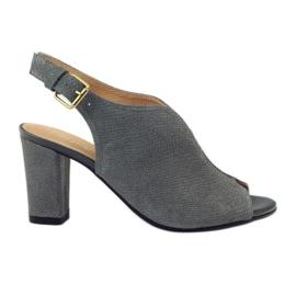ESPINTO 248 sandali grigio cobra