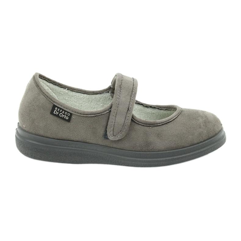 Grigio Befado scarpe da donna pu 462D001