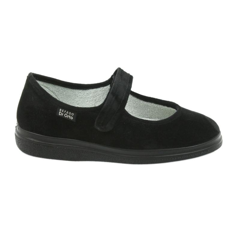 Befado scarpe da donna pu 462D002 nero