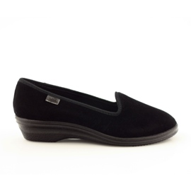 Befado scarpe da donna pvc 262D008 nero