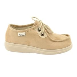 Befado scarpe da donna pu 871D007 marrone