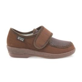 Befado scarpe da donna pu 984D010 marrone