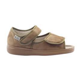 Befado scarpe da donna pu 989D003 marrone