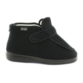 Nero Befado scarpe da donna pu orto 987D002