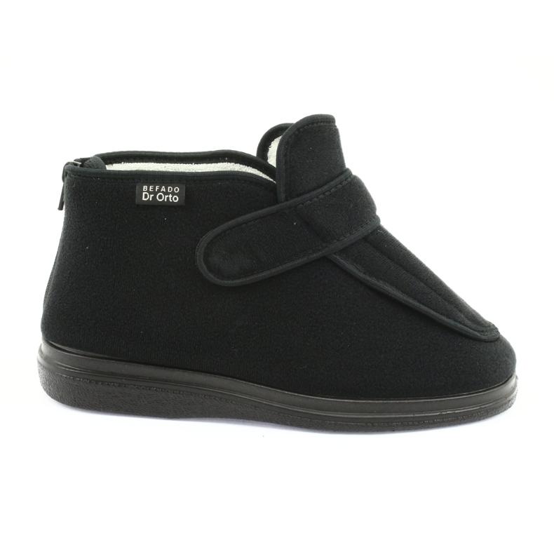 Befado scarpe da donna pu orto 987D002 nero