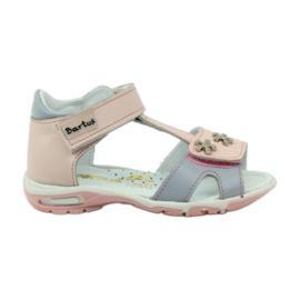 Sandalo in velcro Bartuś 138 rosa