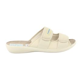 Pantofole elastiche Adanex 17660 beige