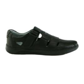 Riko scarpe da uomo 851 sandali grigio