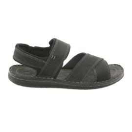 Nero Sandali da uomo Riko 852 scarpe sportive